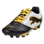 PUMA PowerCat 4.12 FG Junior (Black/White/Team Yellow)