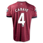 Newcastle United 12/13 CABAYE Away Soccer Jersey