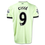 Newcastle United 12/13 CISSE Third Soccer Jersey