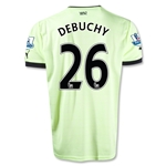 Newcastle United 12/13 DEBUCHY Third Soccer Jersey