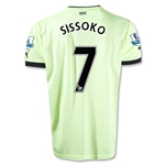 Newcastle United 12/13 SISSOKO Third Soccer Jersey