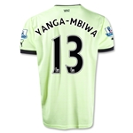 Newcastle United 12/13 YANGA-MBIWA Third Soccer Jersey