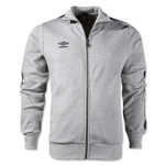 Umbro Fleece Taped Track Jacket (Gray)