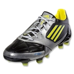 adidas F50 adizero TRX FG (Leather) (Black/Metsilver/ Lab Lime)