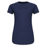 Ladies 4.3 Oz Cotton T-Shirt (Navy)