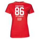 Arsenal 1886 Junior Women's T-Shirt (Red)