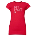 Atletico Madrid ATL MAD Junior Women's T-Shirt (Red)