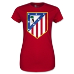 Atletico Madrid Core Junior Women's T-Shirt (Red)