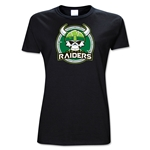 NY Raiders AMNRL Junior Women's T-Shirt (black)