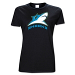 Bucks County Sharks AMNRL Junior Women's SS T-Shirt