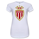 AS Monaco Junior Women's Soccer T-Shirt (White)