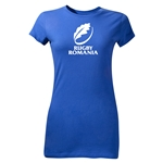 Rugby Romania Junior Women's SS T-Shirt (Royal)