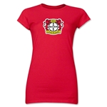 Bayer Leverkusen Junior Women's T-Shirt (Red)