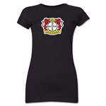 Bayer Leverkusen Junior Women's T-Shirt (Black)