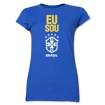 Brazil Junior Women's T-Shirt (Royal)