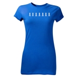 Chelsea 2012 FA Cup Trophy Junior Women's T-Shirt (Royal)