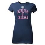 Borough of Chelsea Junior Women's T-Shirt (Navy)