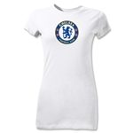Chelsea Crest Junior Women's T-Shirt (White)