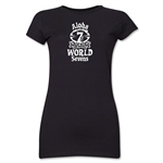 Aloha World Sevens Junior Women's T-Shirt (Black)