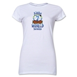 Aloha World Sevens Junior Women's T-Shirt (White)