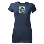 FIFA Beach World Cup 2013 Junior Women's Emblem T-Shirt (Navy)