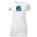 FIFA Beach World Cup 2013 Junior Women's Emblem T-Shirt (White)