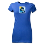 FIFA Beach World Cup 2013 Junior Women's Emblem T-Shirt (Royal)