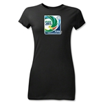 FIFA Confederations Cup 2013 Junior Women's Emblem T-Shirt (Black)