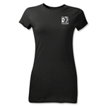 FIFA Confederations Cup 2013 Junior Women's Small Emblem T-Shirt (Black)