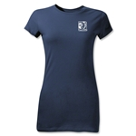 FIFA Confederations Cup 2013 Junior Women's Small Emblem T-Shirt (Navy)