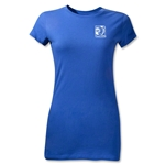 FIFA Confederations Cup 2013 Junior Women's Small Emblem T-Shirt (Royal)