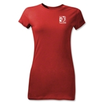 FIFA Confederations Cup 2013 Junior Women's Small Emblem T-Shirt (Red)