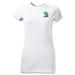 FIFA Confederations Cup 2013 Junior Women's Small Emblem T-Shirt (White)