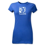 FIFA Confederations Cup 2013 Junior Women's Emblem T-Shirt (Royal)