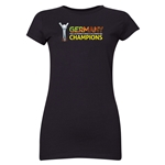Germany FIFA U-20 Women's World Cup Canada 2014 Junior Women's Champions T-Shirt (Black)