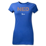 Netherlands 2014 FIFA World Cup Brazil(TM) Jr Women's Elements T-Shirt (Royal)