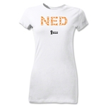 Netherlands 2014 FIFA World Cup Brazil(TM) Jr Women's Elements T-Shirt (White)
