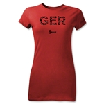 Germany 2014 FIFA World Cup Brazil(TM) Jr Women's Elements T-Shirt (Red)