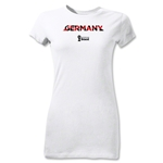 Germany 2014 FIFA World Cup Brazil(TM) Jr Women's Palm T-Shirt (White)