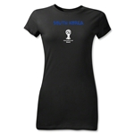 South Korea 2014 FIFA World Cup Brazil(TM) Junior Women's Core T-Shirt (Black)