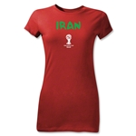 Iran 2014 FIFA World Cup Brazil(TM) Junior Women's Core T-Shirt (Red)