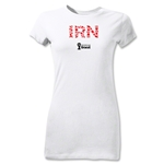 Iran 2014 FIFA World Cup Brazil(TM) Junior Women's Elements T-Shirt (White)