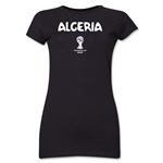 Algeria 2014 FIFA World Cup Brazil(TM) Jr. Women's Core T-Shirt (Black)