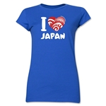 I Heart Japan 2014 FIFA World Cup Brazil(TM) Jr. Women's T-Shirt (Royal)
