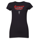 Germany 2014 FIFA World Cup Brazil(TM) Jr. Women's Champions T-Shirt (Black)