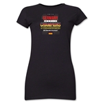 Germany 2014 FIFA World Cup Brazil(TM) Jr. Women's Champions 14 T-Shirt (Black)