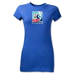 FIFA U-20 World Cup Turkey 2013 Junior Women's Emblem T-Shirt (Royal)