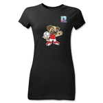 FIFA U-20 World Cup Turkey Junior Women's Mascot T-Shirt (Black)