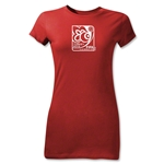 FIFA U-20 World Cup Turkey 2013 Junior Women's Emblem T-Shirt (Red)