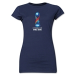 FIFA U-17 World Cup Chile 2015 Core Junior Women's T-Shirt (Navy)